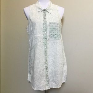 INTIMATELY FREE PEOPLE floral sleeveless dress S